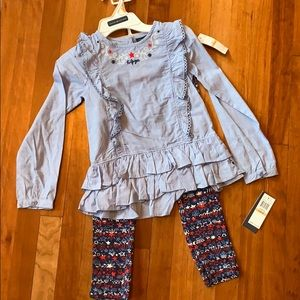 NWT! Tommy Hilfiger 2pc. set! Girls size 6x